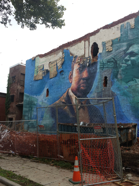 Tribute to John Coltrane Mural2