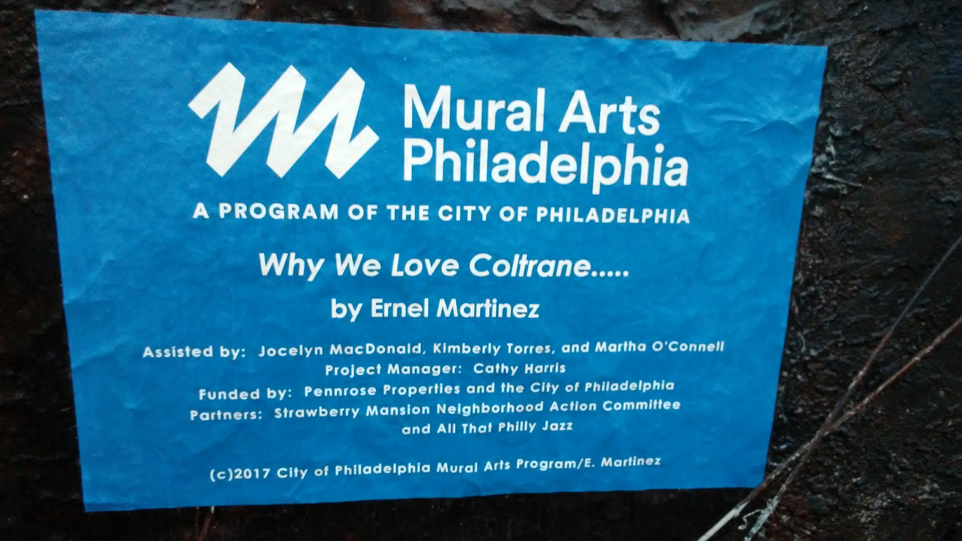 Why We Love Coltrane Acknowledgements