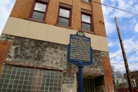 Crawford Grill - Pittsburgh - Historical Marker - 2001