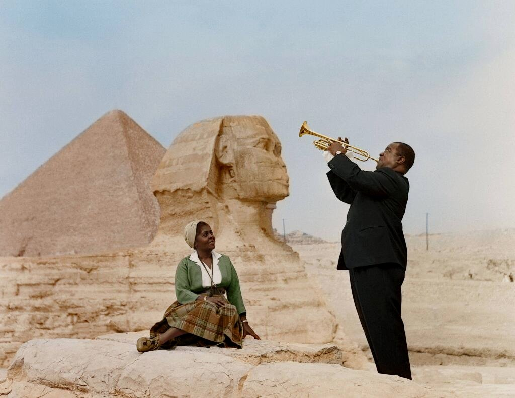 Louis Armstrong - Egypt
