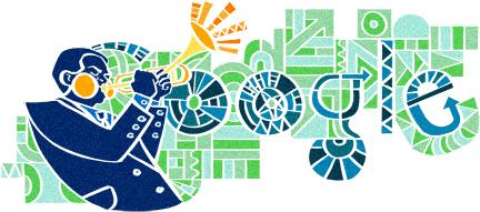Google Doodle - Dizzy Gillespie
