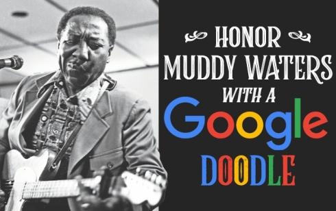 Muddy Waters Google Doodle