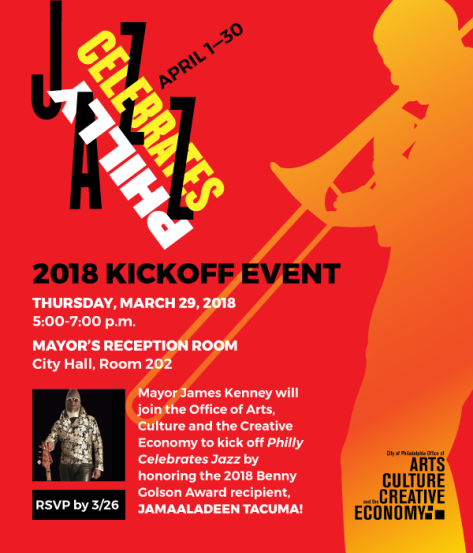 Philly Loves Jazz Kickoff Event - March 29