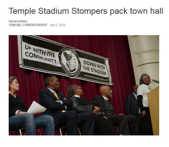 #WeShallNotBeMoved Town Hall Meeting - Philadelphia Tribune