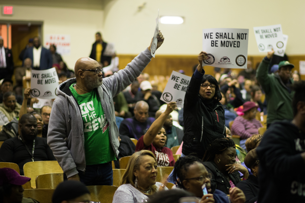 #WeShallNotBeMoved Town Hall Meeting