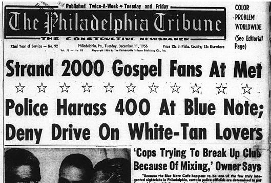 Philadelphia Tribune - Dec. 11, 1956