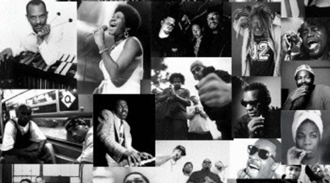 An image of African Americans in music.