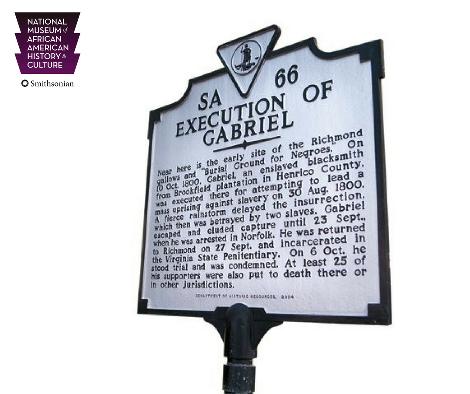 Gabriel Prosser Historical Marker