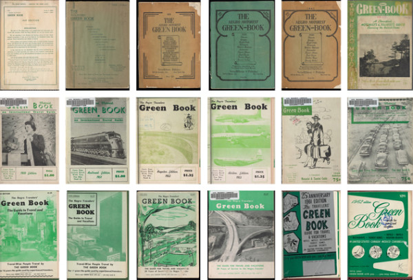 Green Book Collage