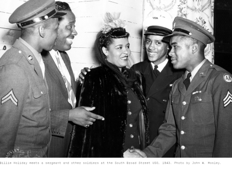 Billie Holiday - South Broad Street USO