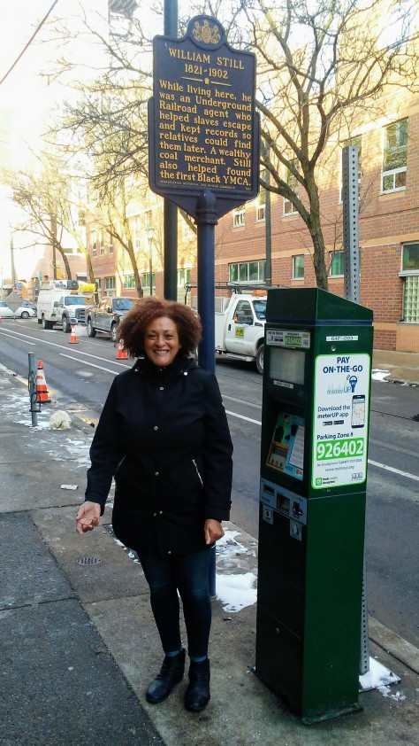 Faye Anderson - William Still Historical Marker - Feb. 2, 2019