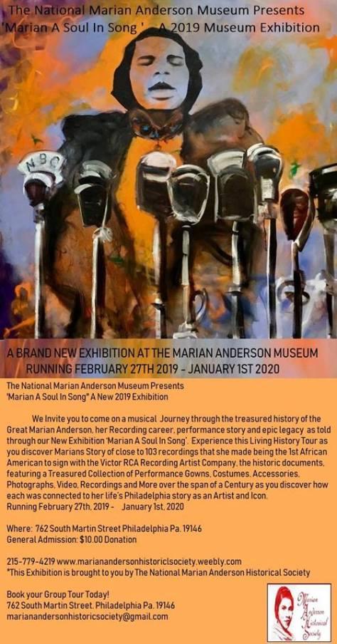 Marian Anderson Exhibit
