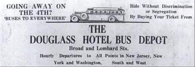 Douglass Hotel Bus Depot