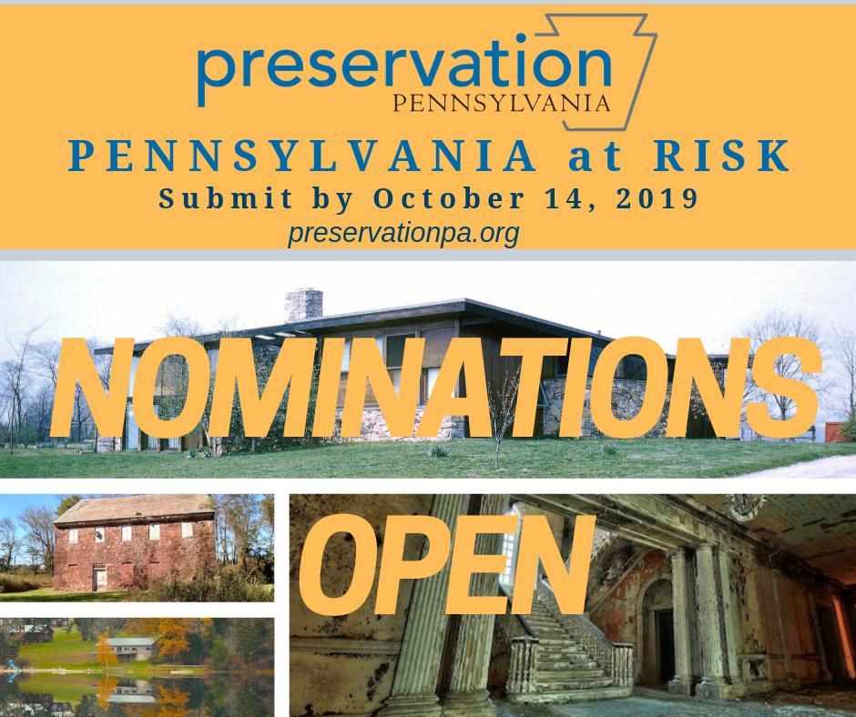 2020 Pennsylvania At Risk - Preservation Pennsylvania