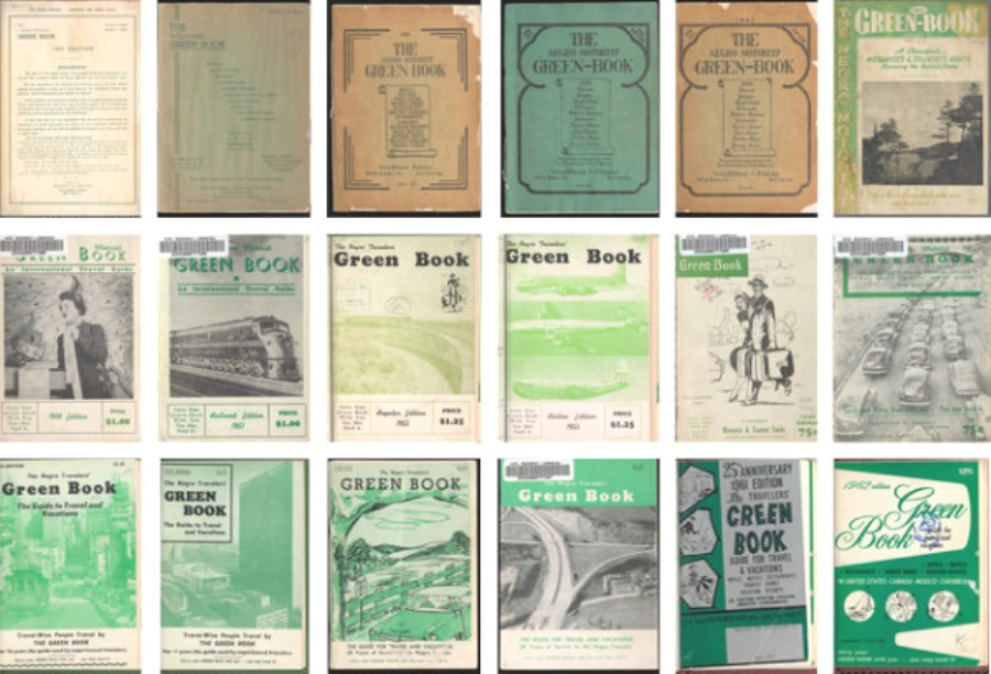 #GreenBook Collage