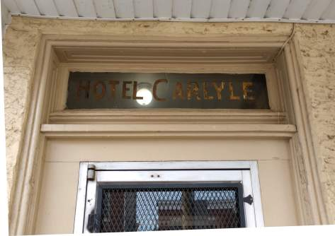 Hotel Carlyle - Vintage Sign