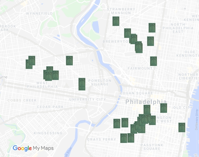 Mapping Green Book Philadelphia - Green Book Icon4