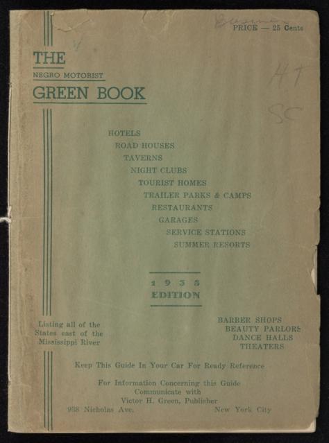 Green Book - 1938