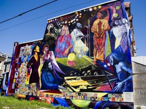 Jazz Appreciation Month 2020 - Women of Jazz Mural