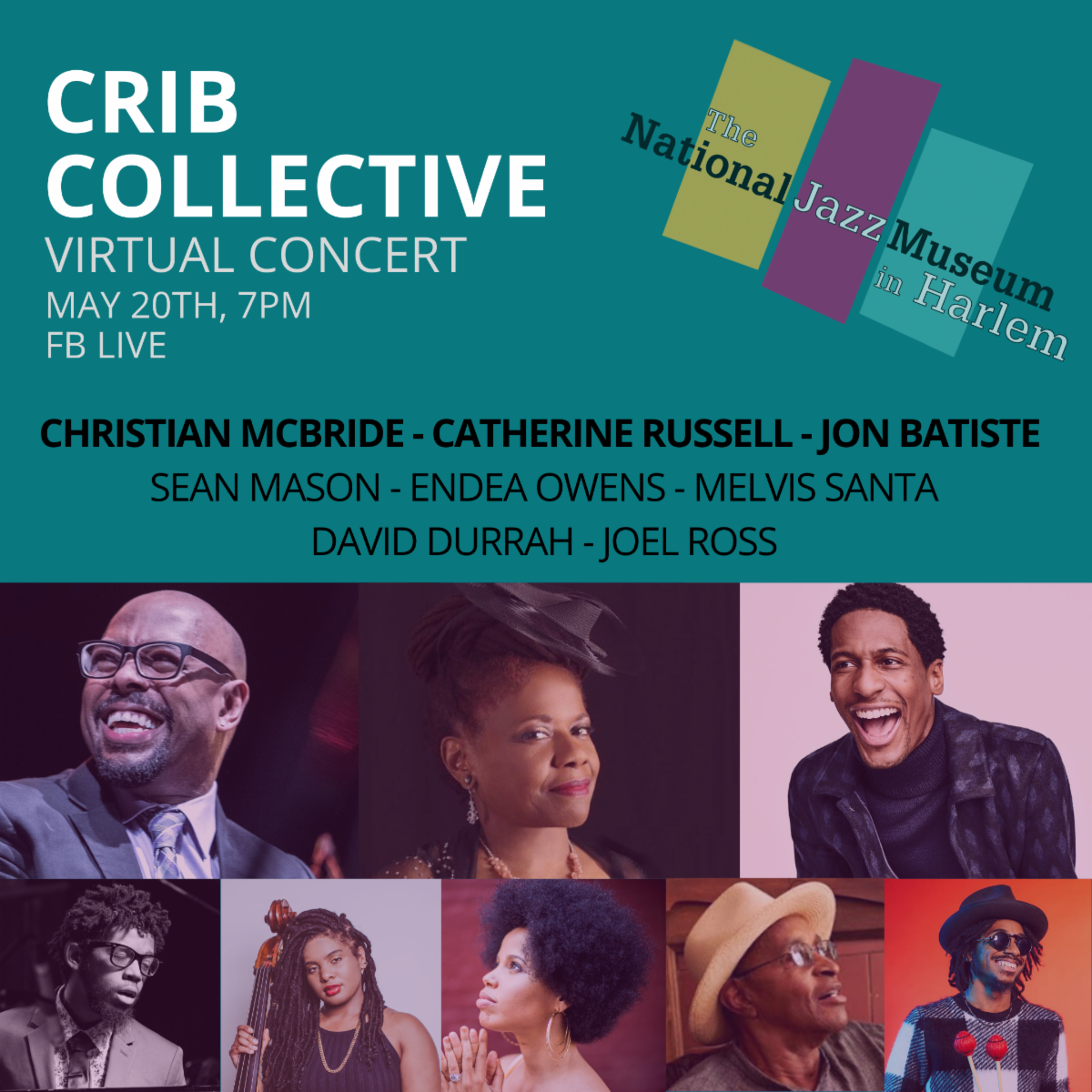 National Jazz Museum CRIB Collective Virtual Concert