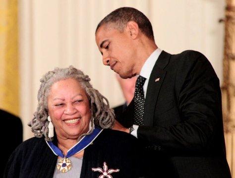 toni-morrison-presidential medal of freedom