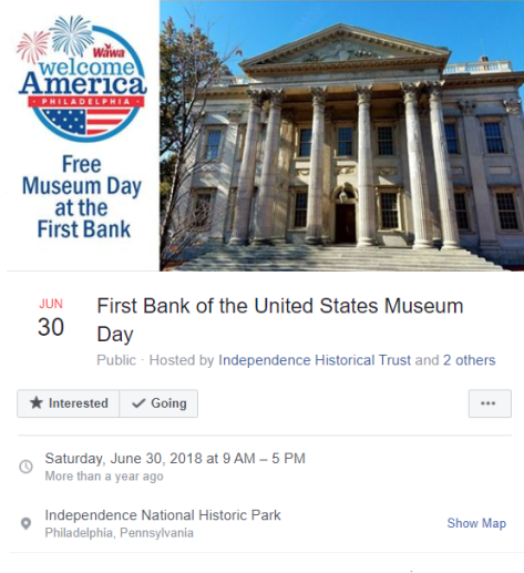 First Bank of the United States - Facebook - June 30, 2018