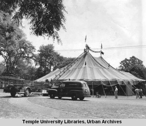 Playhouse in the Park -Tent